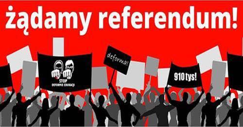 #910 tysięcy – żądamy referendum! 25 maja 2017