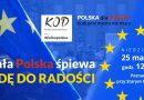 """Cała Polska śpiewa """"Odę do Radości"""""""