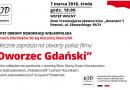 Zapraszamy na pokaz filmu Dworzec Gdański